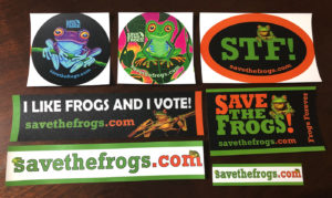 Save The Frogs Stickers