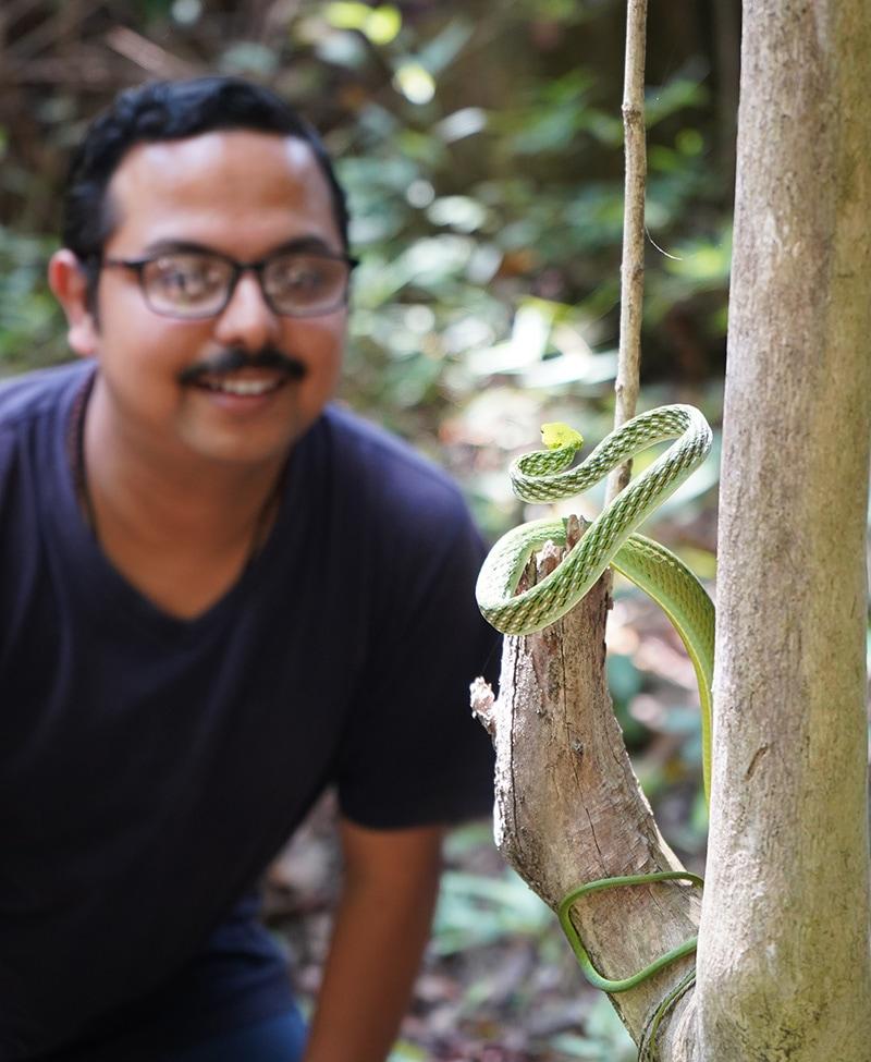Shibajee Mitra India Frogs