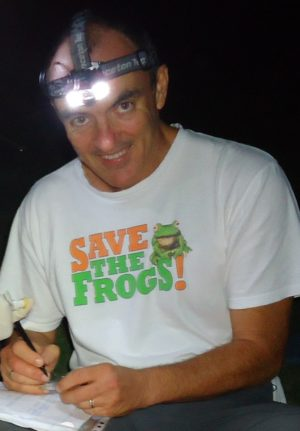 Shirt - Save The Frogs Classic Logo - Marc Hero 2012