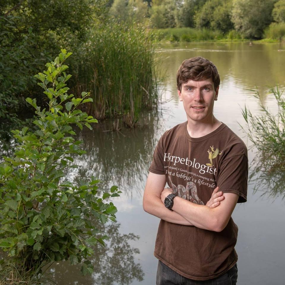 Steven Allain UK amphibians