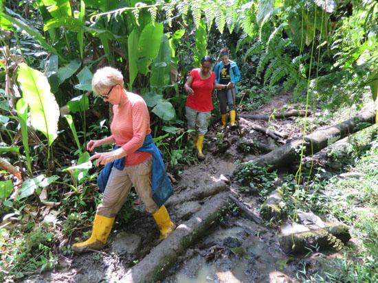 Suchipakari Sandy Deborah Kathlyn mud