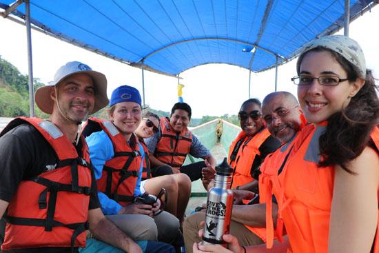 Suchipakari amazon boat group