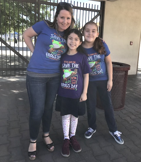 Save The Frogs Day shirts