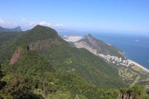 Rio Brazil UFRJ Pedra Bonita
