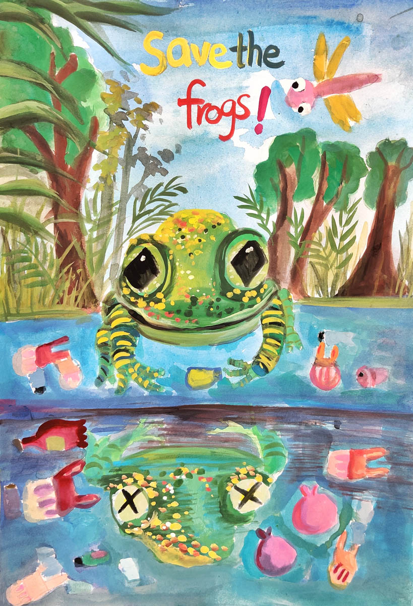 Yan Jie-Chen-Taiwan-2020-save-the-frogs-art-contest