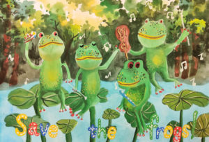 Yan Wei-Chen-Taiwan-2020-save-the-frogs-art-contest