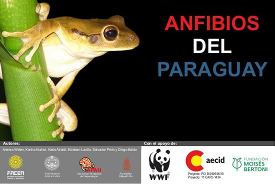 anfibios del paraguay book