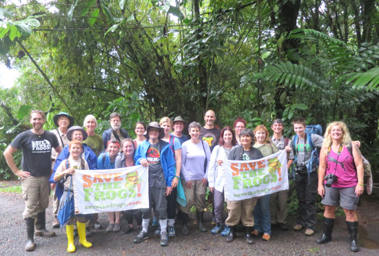 Save The Frogs Costa Rica Ecotour 2017