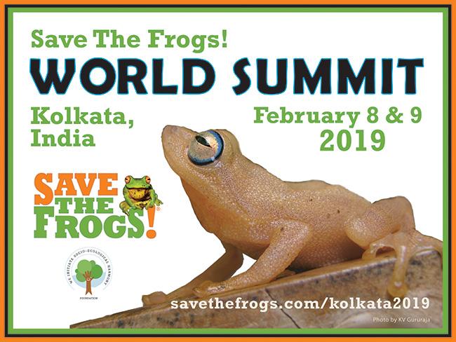 Save The Frogs World Summit Kolkata