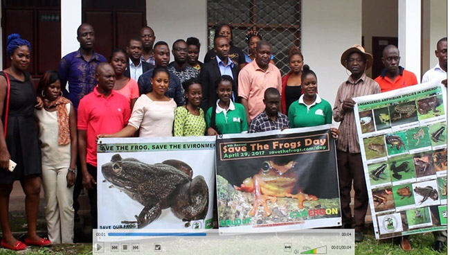 cameroon save the frogs day 2017