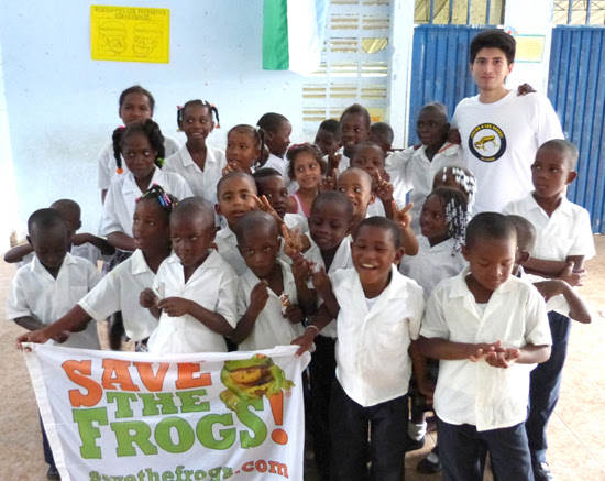 save the frogs colombia