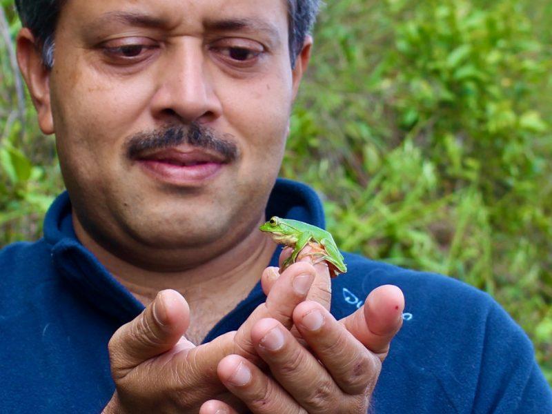 Karthik Vasudevan Frogs India CSIR
