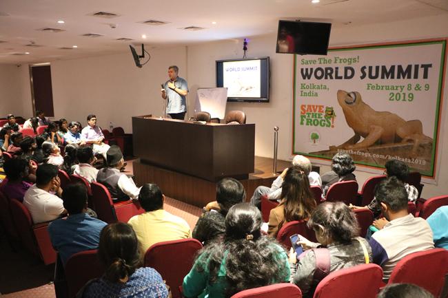 india save the frogs world summit 2019 kolkata karthik vasudevan