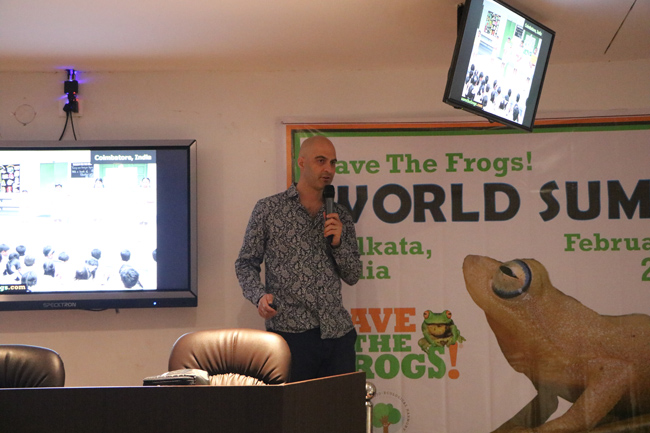 india save the frogs world summit 2019 kolkata kerry kriger