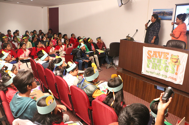 india save the frogs world summit 2019 kolkata sarbani nag