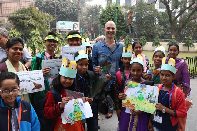 india-world-summit-2019-kolkata kids