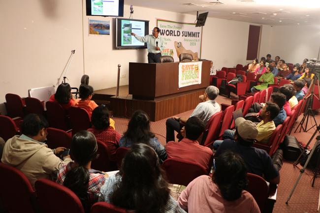 india save the frogs world summit 2019 kolkata kaushik deuti