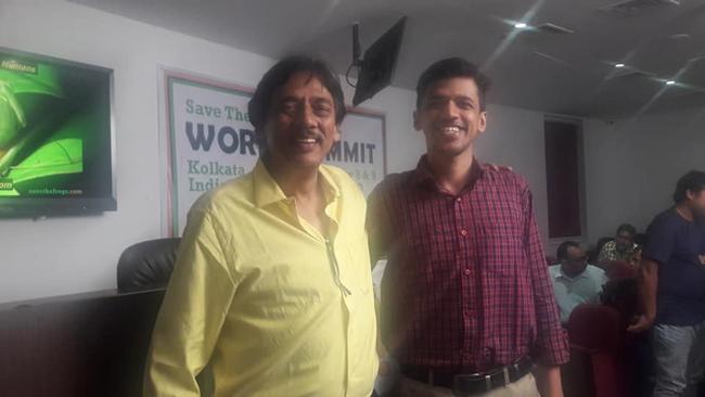 india save the frogs world summit 2019 kolkata animesh ghose