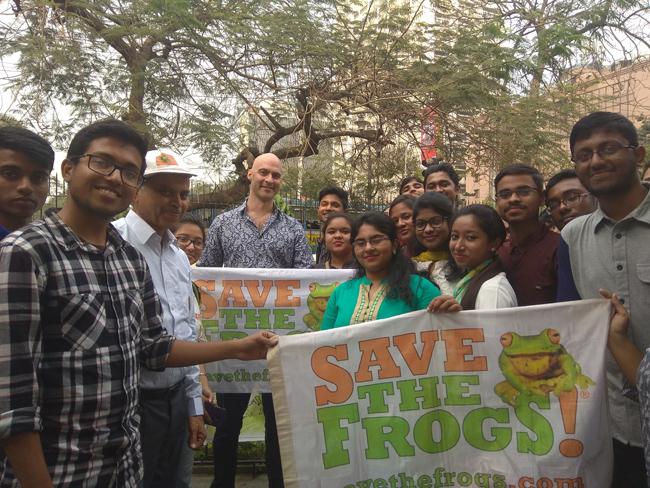 save the frogs world summit kolkata 2019