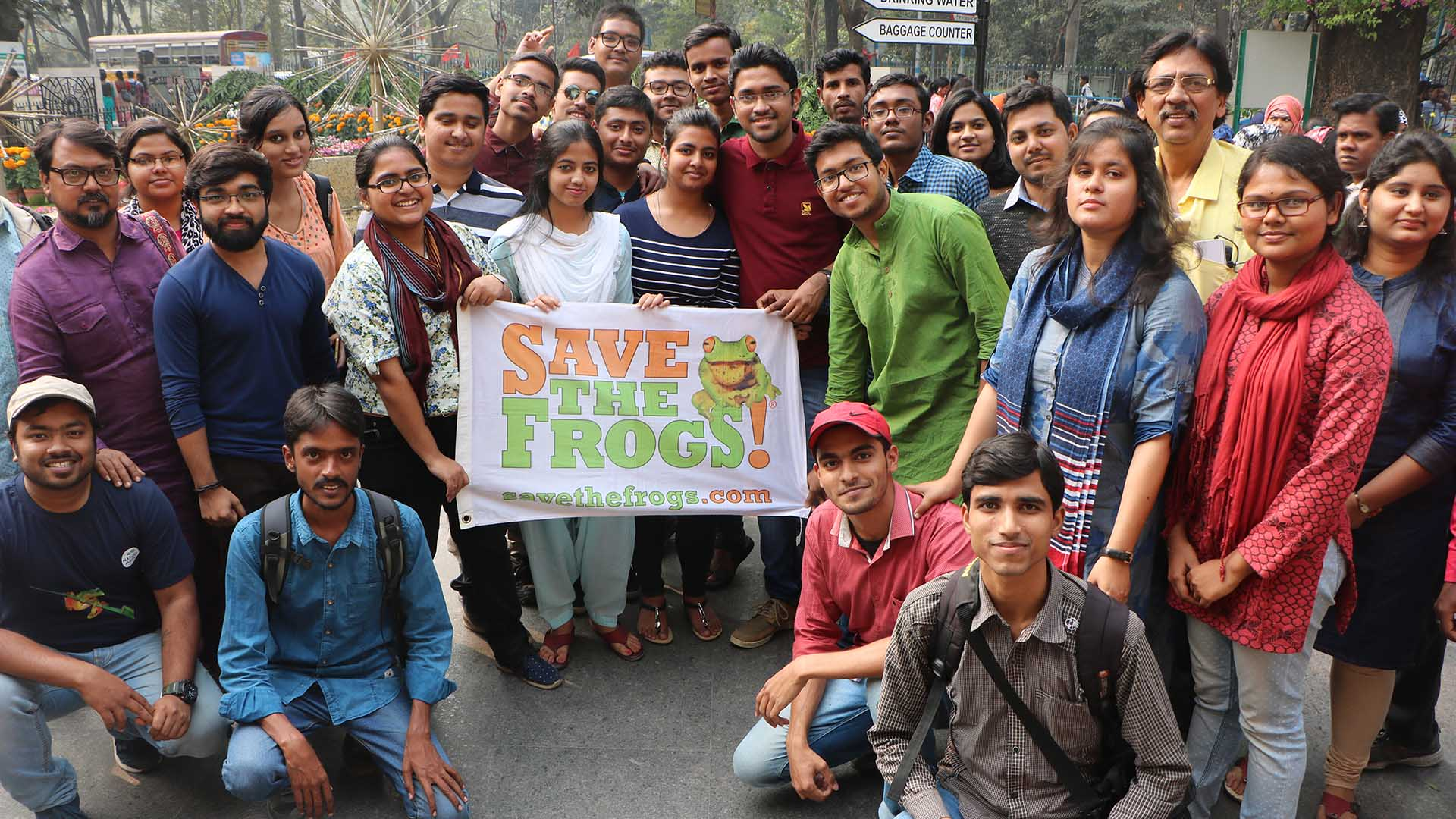 save the frogs world summit kolkata india