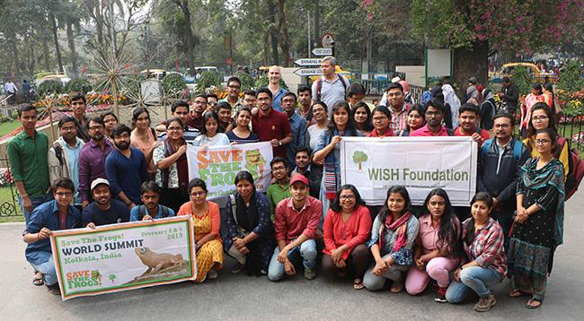 india save the frogs world summit 2019 kolkata group