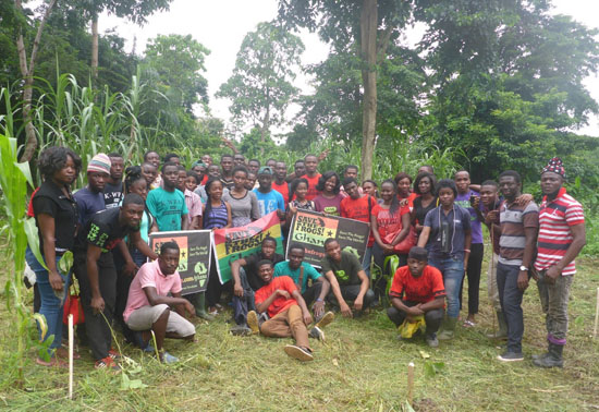 knust members restoring degraded habitat group flag 2017 wewe b