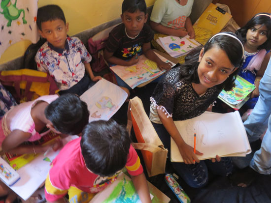 kolkata rahara nibedita 2018 kids painting 1