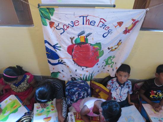 kolkata rahara nibedita 2018 kids painting 2