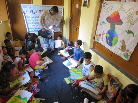 kolkata rahara nibedita 2018 kids painting 3