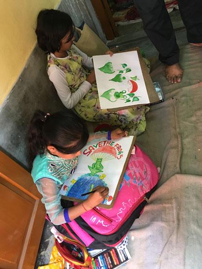 kolkata rahara nibedita 2018 kids painting 4