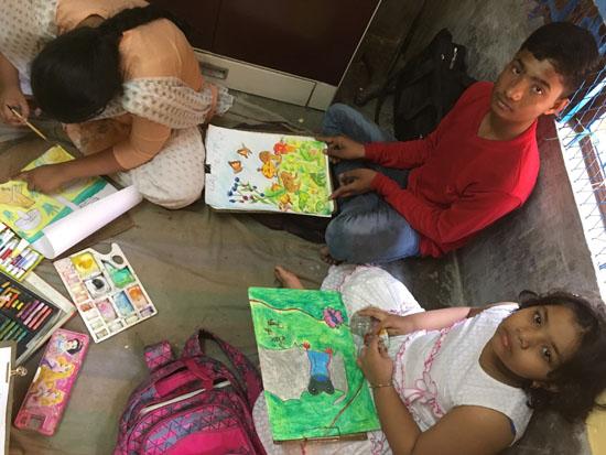 kolkata rahara nibedita 2018 kids painting 5