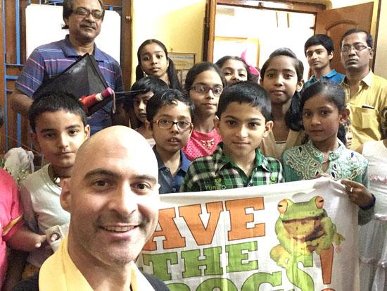 Kolkata Save The Frogs