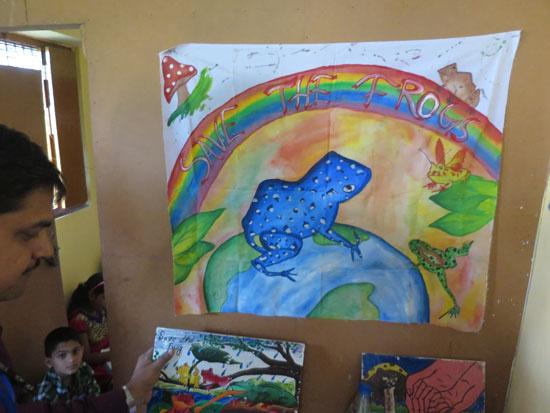 kolkata rahara nibedita 2018 rainbow frog