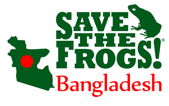 save the frogs bangladesh logo