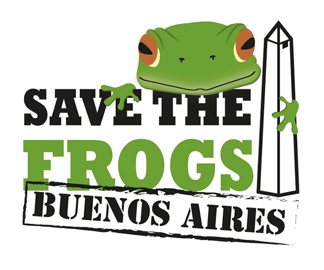 Save The Frogs Buenos Aires Logo