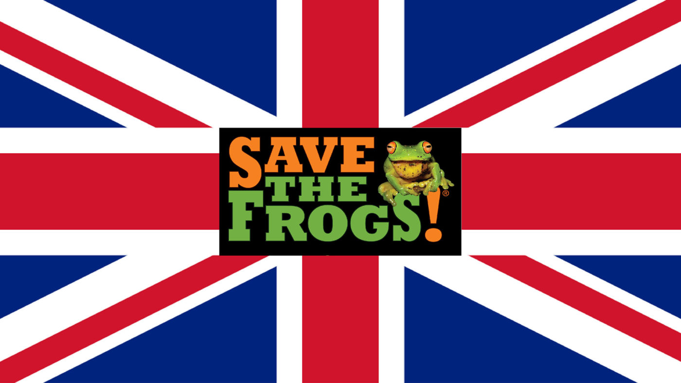 save the frogs united kingdom logo