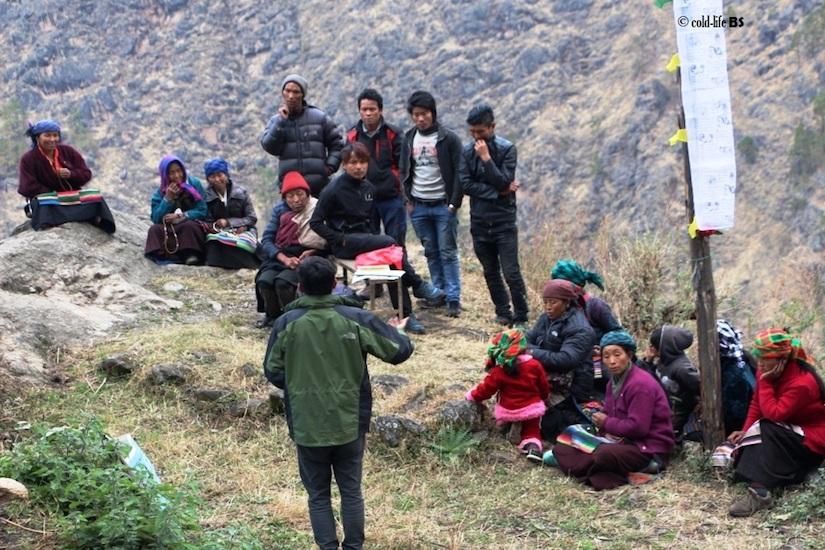 manaslu Amphibian Conservation Dissemination Workshop at Lokpa Chumchet biraj shrestha