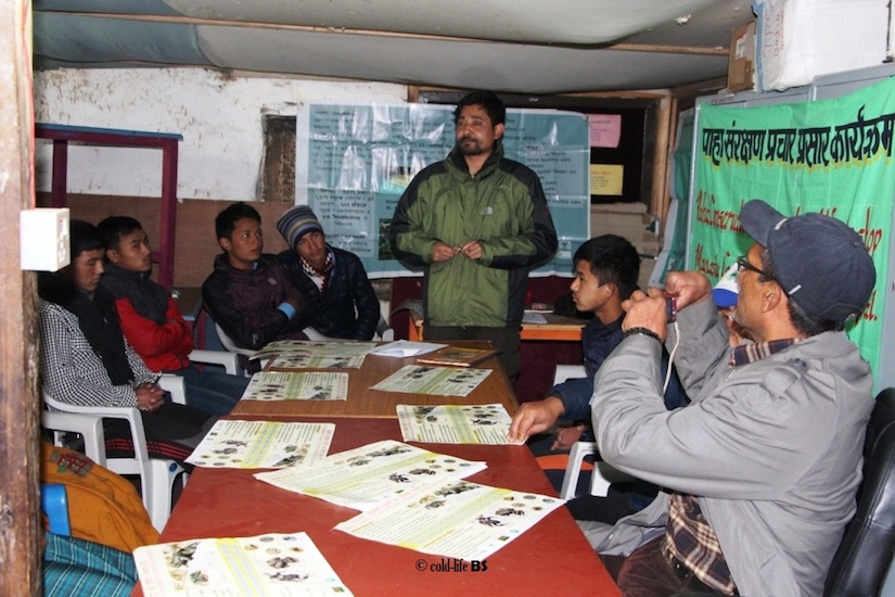 manaslu Amphibian Conservation Dissemination Workshop at Philim Sirdibas biraj shrestha