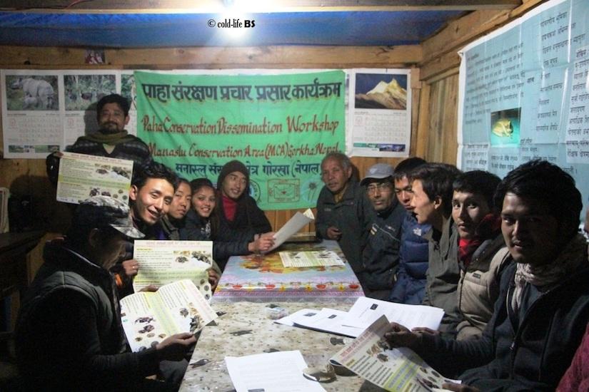 manaslu Amphibian Conservation Group at Prok biraj shrestha