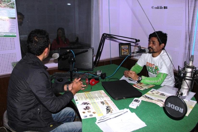 manaslu Choice FM 94.0 MHz studio biraj shrestha