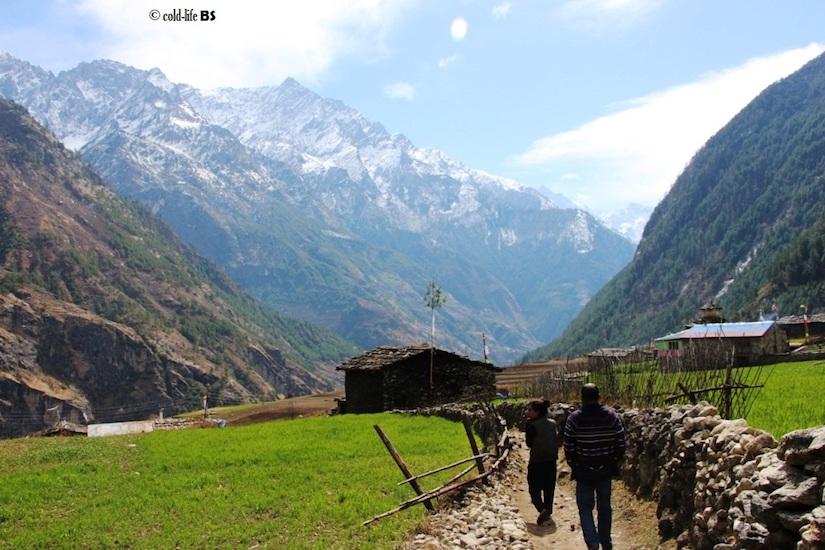 manaslu Farmlands of Prok biraj shrestha