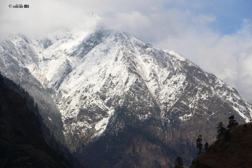 manaslu Snowy mountain tops biraj shrestha