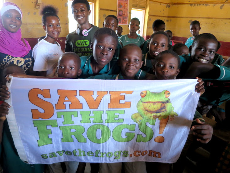 Donate Ghana Frogs