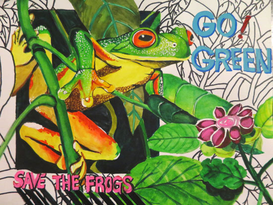 Frog Art Competition