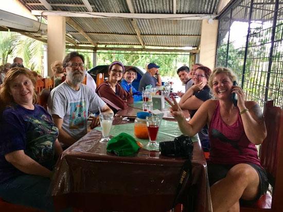 sarapiqui lunch group 1