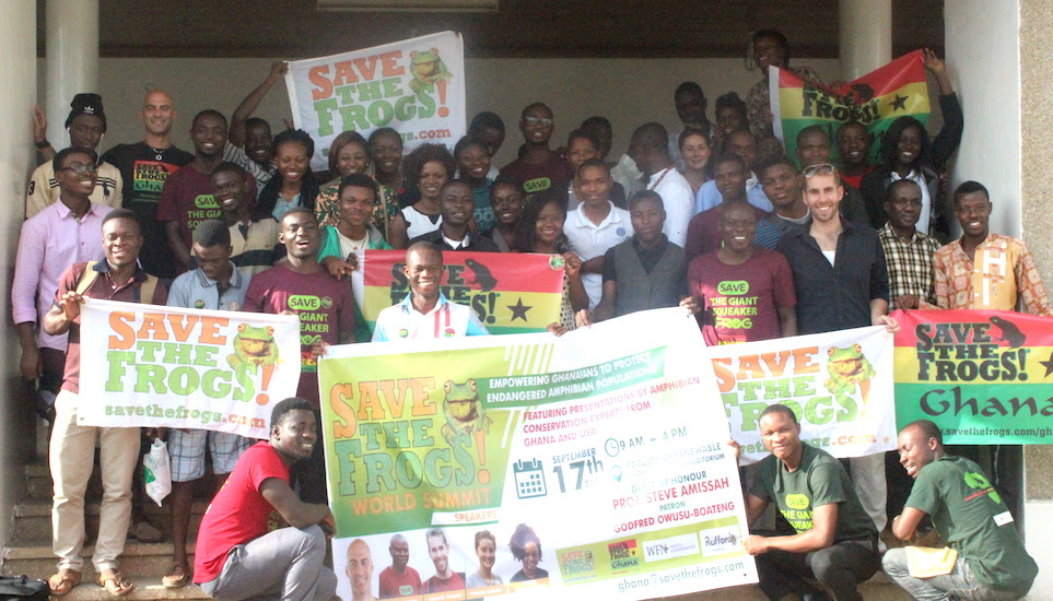 save the frogs world summit ghana expedition 2016