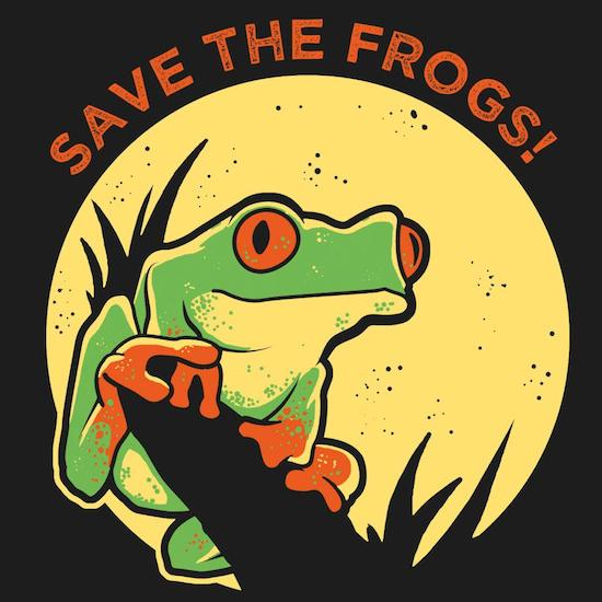 savethefrogs float 1