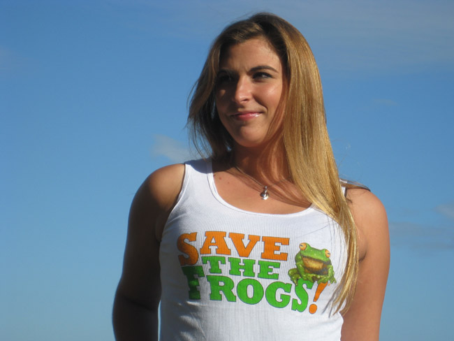 Save The Frogs Ladies Shirts
