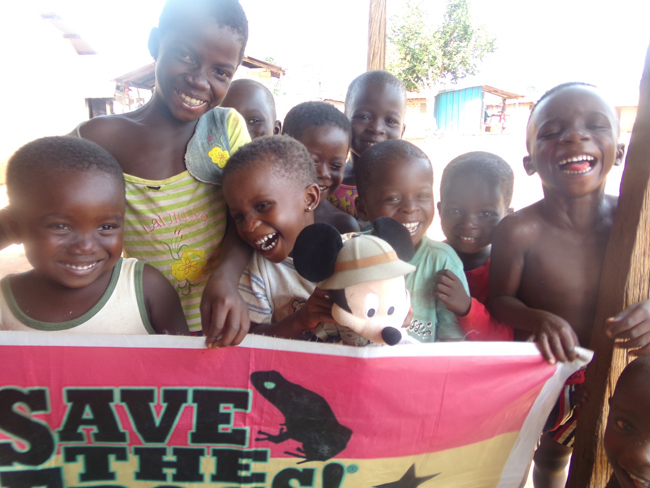 Save The Frogs Ghana