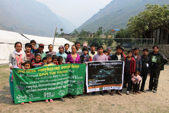 save the frogs day manaslu